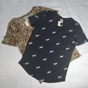 PINK Victoria's Secret 2 Shirt Size M